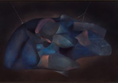 Quietud, 1981, oil on canvas, 34×50″