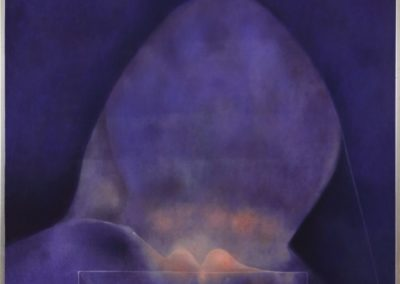 Cabeza, 1978, oil on canvas, 40×50″