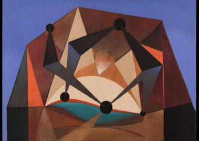 Danzarines, 1969, oil on canvas, 40×50″