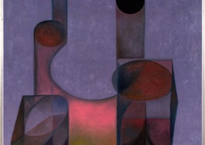 Doble imagen, 1968, oil on canvas, 40×30″