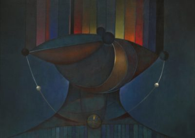 El collar mágico, 1970, oil on canvas, 30×40″