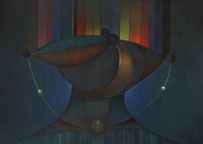 El collar mágico, 1970, oil on canvas, 30×40″