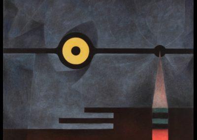Midnight, 1974, oil on canvas, 36×40″