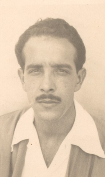 1940s - A young Soriano in his mid-20s