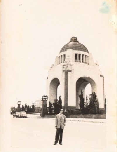 1947 -Soriano in Mexico City, 1947