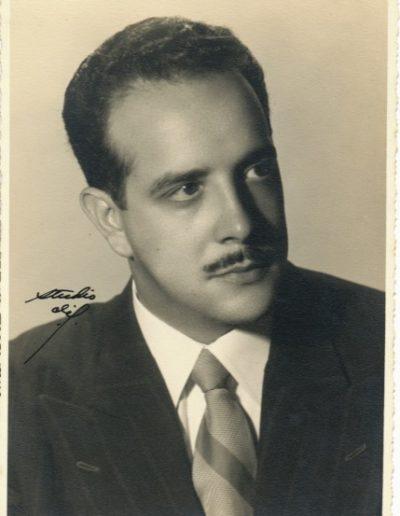 1950s - Soriano portrait, 1950s