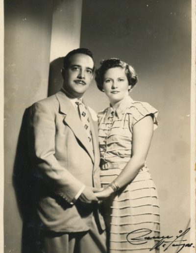 1952 - Milagros & Rafael Soriano Wedding Picture, August 2, 1952