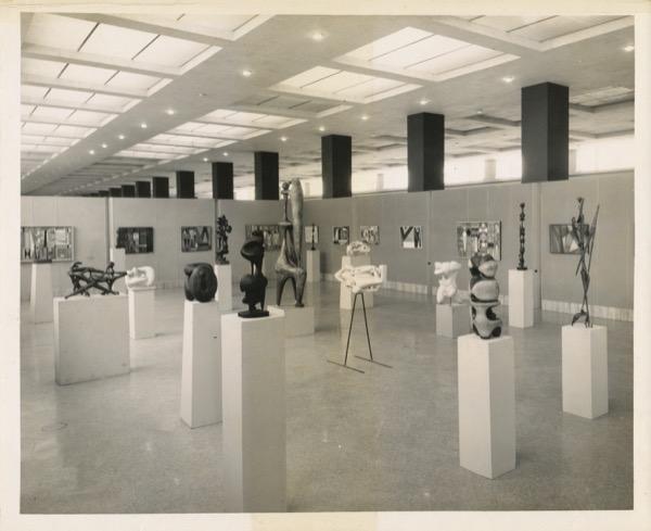 1955 - Groundbreaking exhibition of Rafael Soriano & Agustin Cardenas, Museo Nacional de Bellas Artes, Havana, Cuba, 1955