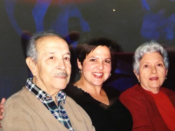 2003 - Rafael, Hortensia and Milagros in Miami Beach