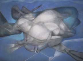 Untitled, PASTEL on paper, 30x40, 1993