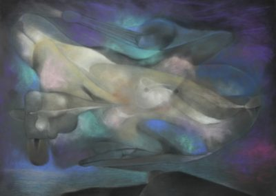 Untitled, Pastel on Paper, 22x30, 1994