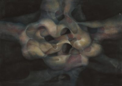 Untitled, Pastel on paper, 22X30, 1988
