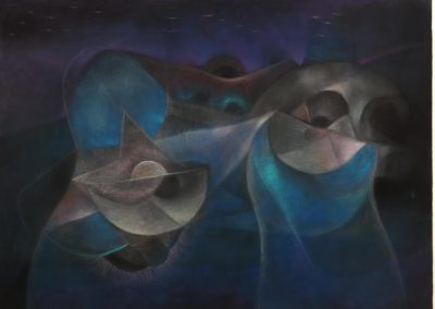 Untitled, Pastel on paper, 22X30, 1990s