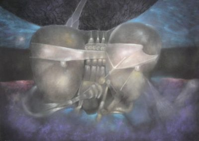 Untitled, Pastel on paper, 22x30,1992