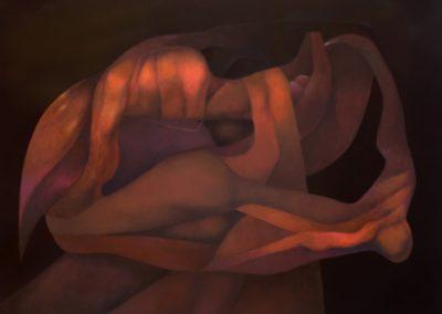 """La magia del recuerdo, 1992, oil on canvas, 50x60"""""""