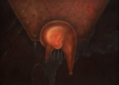 """Rondando el abismo, 1996, oil on canvas, 30x40"""""""