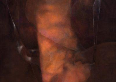 """La crucifixión de Venus, 1989, oil on canvas, 20x24"""""""